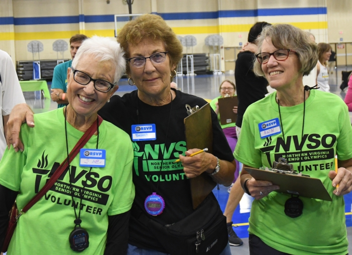 RSVP offers more than 300 meaningful opportunities that include helping seniors age in place, assisting local veterans, and helping prepare communities for disasters. RSVP also recruits volunteers for various community events including for the Northern Virginia Senior Olympics.